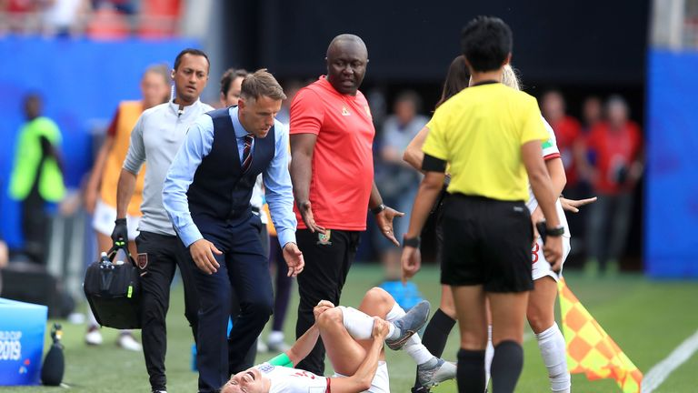 Phil Neville was left furious by the behaviour of Cameroon's players during their 3-0 World Cup win