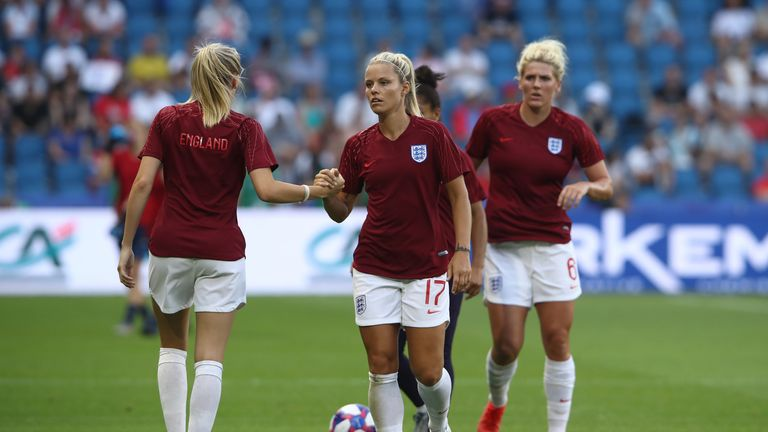 Rachel Daly thinks England have the strength in depth to win World Cup