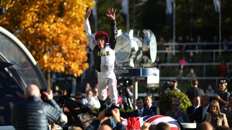 No jockey has had more success at the Berkshire race course than Dettori