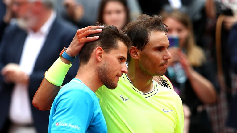 Thiem was runner-up to Nadal for the second consecutive year