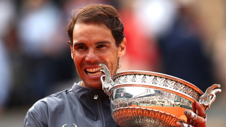 Rafael Nadal defeats Dominic Thiem in four sets to win French Open title at Roland Garros | Tennis News |