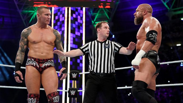 Randy Orton and Triple H had the longest match of the night at Super ShowDown