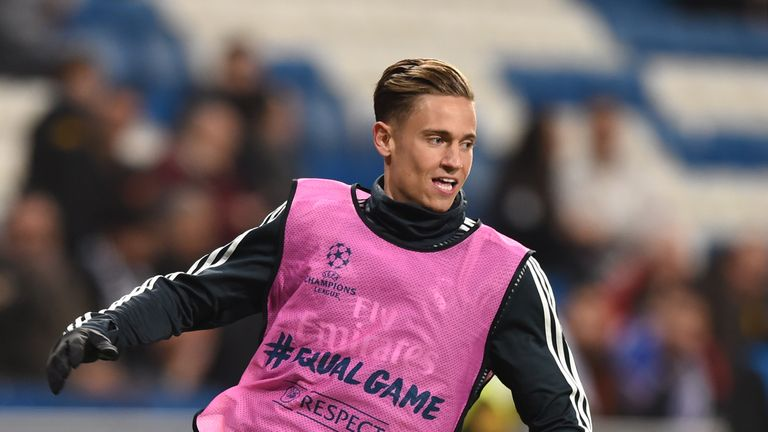 Marcos Llorente has signed for Atletico Madrid from city rivals Real Madrid