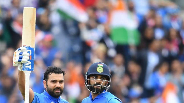 Rohit Sharma hit another fine century for India