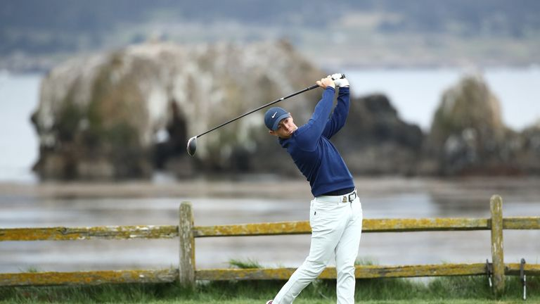 Rory McIlroy during the third round of the US Open