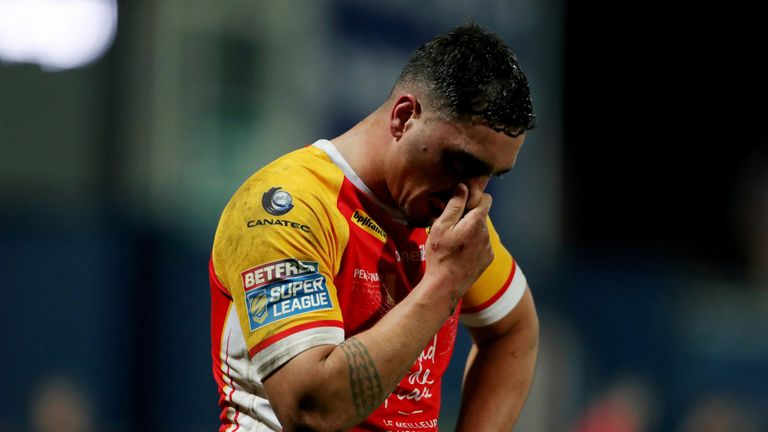 Catalans Dragons forward Jason Baitieri has ban for dangerous tackle halved | Rugby League News |