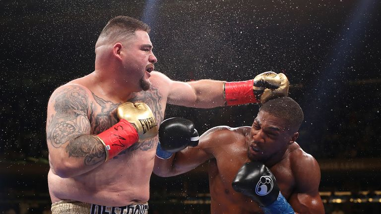 Andy Ruiz Jr beats Anthony Joshua
