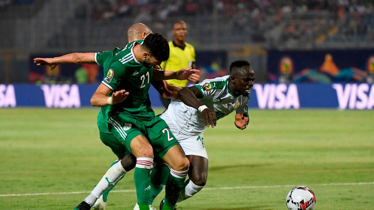 Senegal were beaten 1-0 by Algeria earlier in the competition