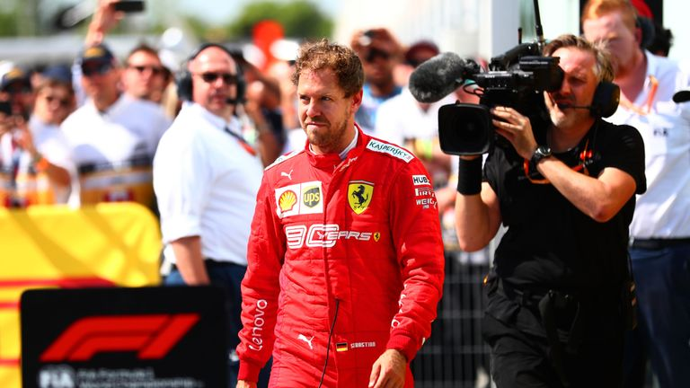 Sebastian Vettel buckled under pressure in Canada, say F1 papers | F1 News