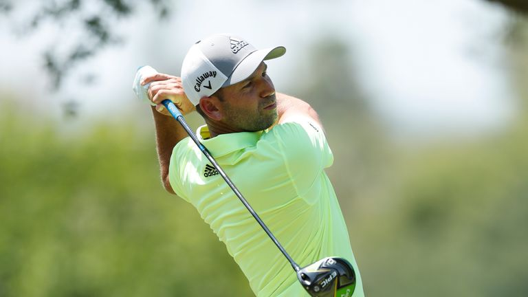 Sergio Garcia's run of wins at Valderrama came to an end