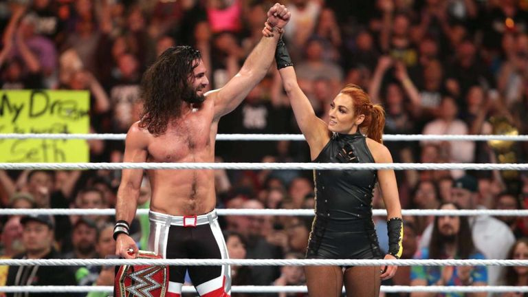 Seth Rollins and Becky Lynch cemented their position as the golden couple of WWE at Stomping Grounds