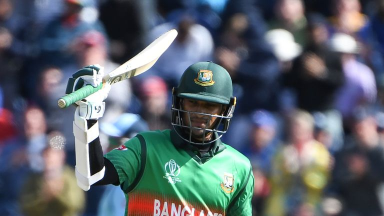 Shakib Al Hasan scored a fine century for Bangladesh in their defeat to England