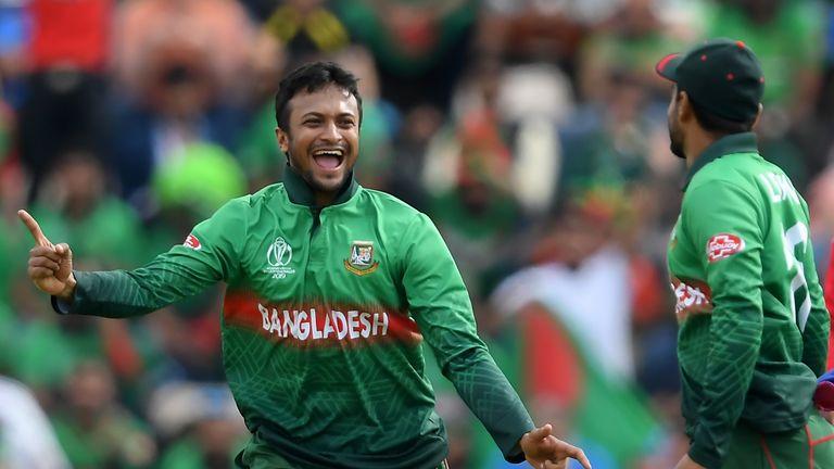 Shakib Al Hasan, Bangladesh, Cricket World Cup vs Afghanistan in Southampton