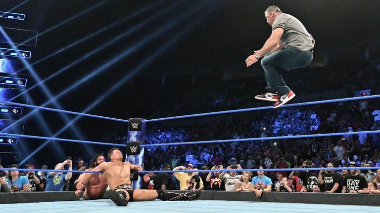 Shane McMahon hits The Miz with the Coast-To-Coast