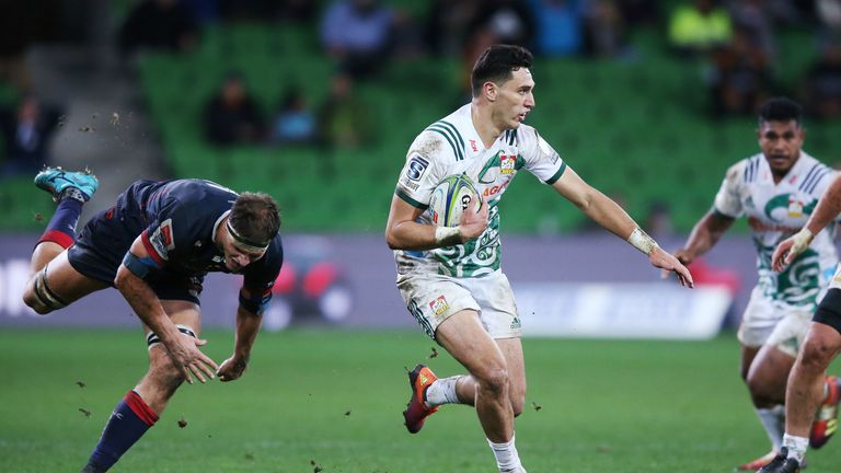 The Chiefs' Shaun Stevenson left the Rebels trailing in his wake
