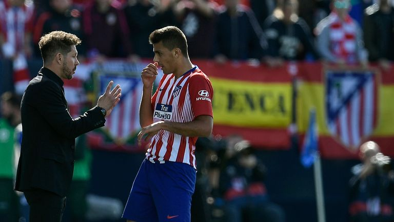 Rodri slotted straight into Diego Simeone's Atletico Madrid first team