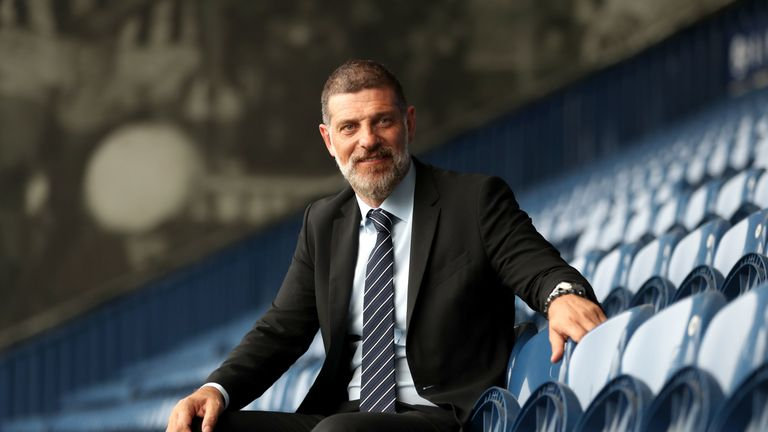 Newly appointed West Bromwich Albion manager Slaven Bilic during a press conference at The Hawthorns