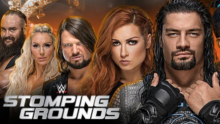 How to see WWE Stomping Grounds on Sky Sports Box Office