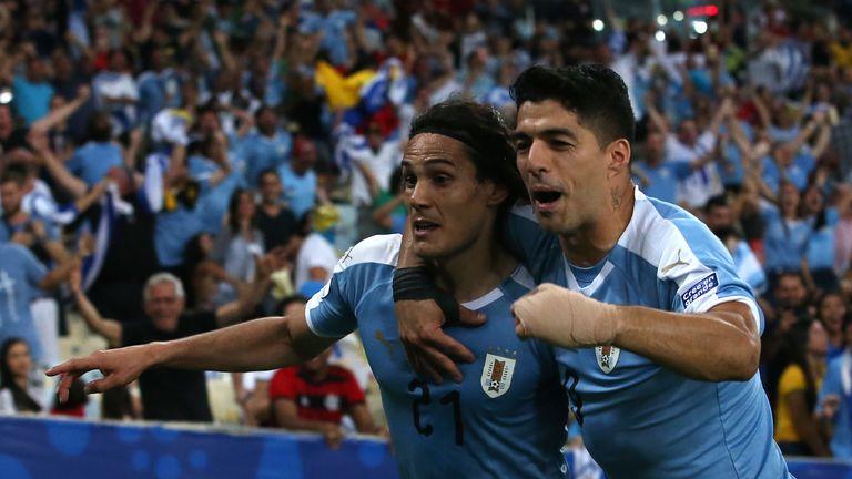 Cavani winner for Uruguay