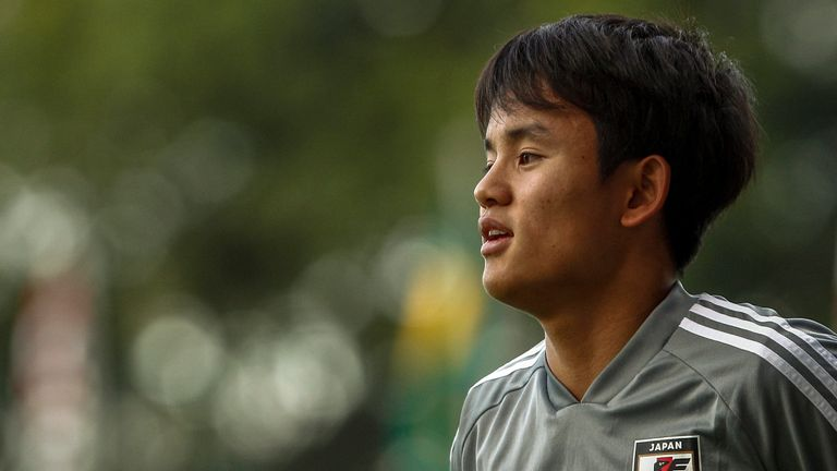 Takefusa Kubo has been dubbed the 'Japanese Messi'