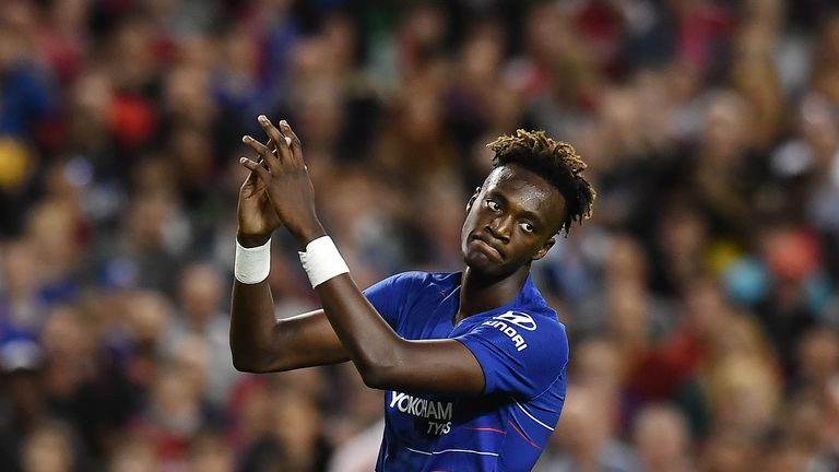 Abraham is keen to break into the Chelsea first team this season