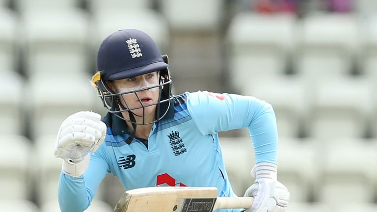 Tammy Beaumont top-scored with 61 for England Women in their recent ODI win against West Indies