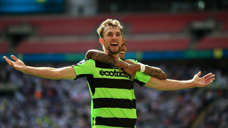 Christian Doidge averaged more than one goal per game for Forest Green in Sky Bet League Two last season