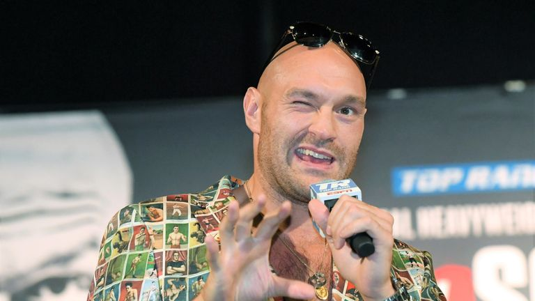 Tyson Fury has aimed a recent verbal attack at Whyte