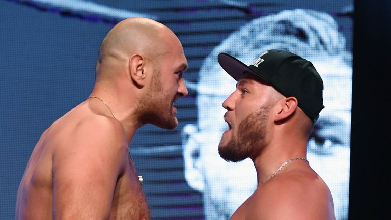 Weigh in Fury