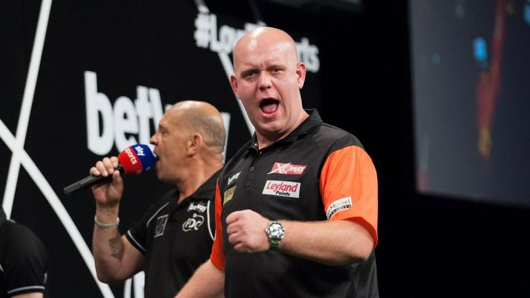 Michael van Gerwen is looking to win his fourth World Cup title
