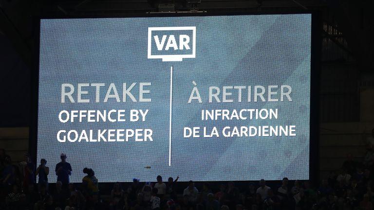 Renard's original penalty was retaken after a VAR review