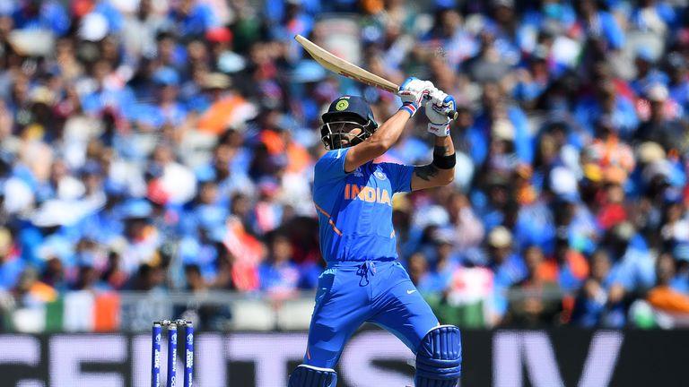 Virat Kohli, India captain, Cricket World Cup vs West Indies at Old Trafford