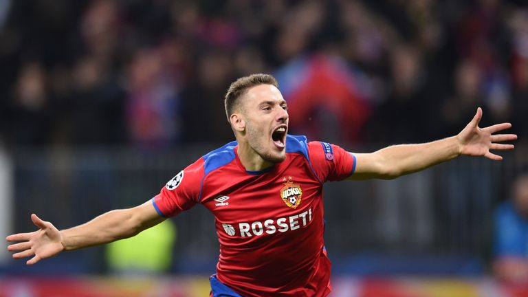 Nikola Vlasic: CSKA Moscow set to sign Everton midfielder in £14m deal