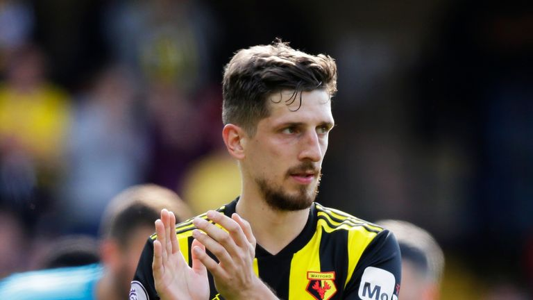 Craig Cathcart signed for Watford in 2014 from Blackpool