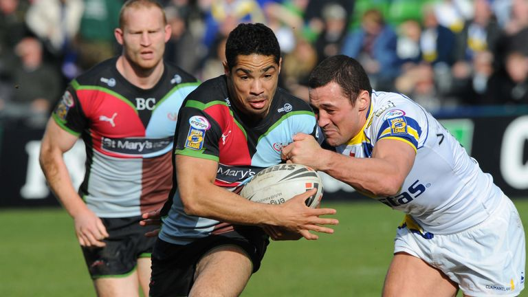 Will Sharp scored twice for Harlequins in their rout of Hull KR in 2009