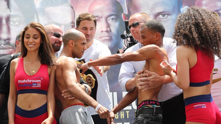 Kal Yafai and Nolberto Jimenez both weighed 114.5lbs for their fight