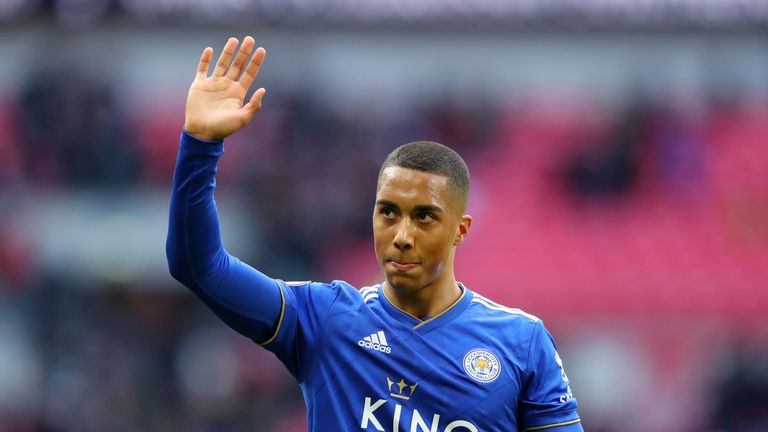 Tielemans spent the second half of last season on loan at Leicester