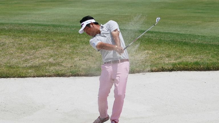 Yuta Ikeda topped the leaderboard at the Mizuno Open
