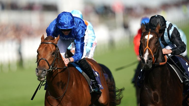 Space Blues - Jersey Stakes favourite