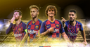 How would Barca line up with Neymar?