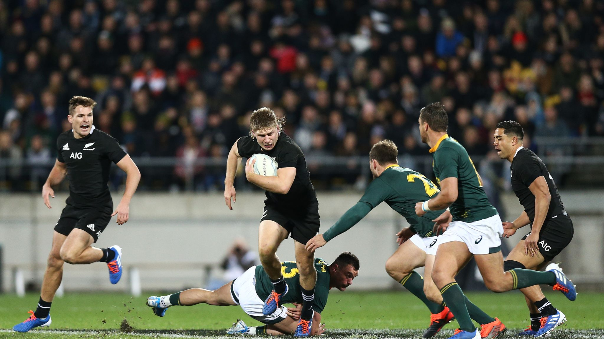 New Zealand Camp Excited About Ireland Quarter Final At Rugby World Cup Rugby Union News Sky Sports