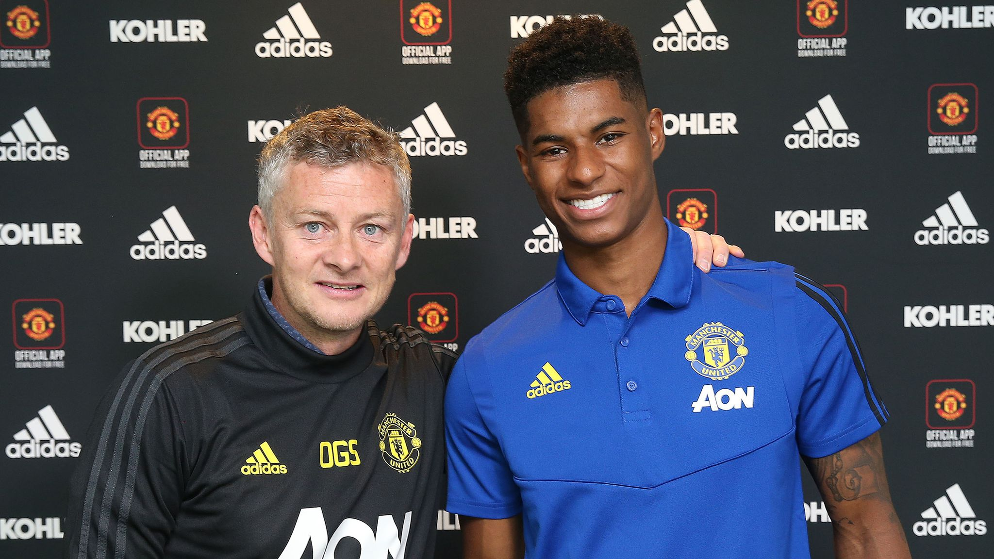 Marcus Rashford Signs Four Year Manchester United Contract Football News Sky Sports