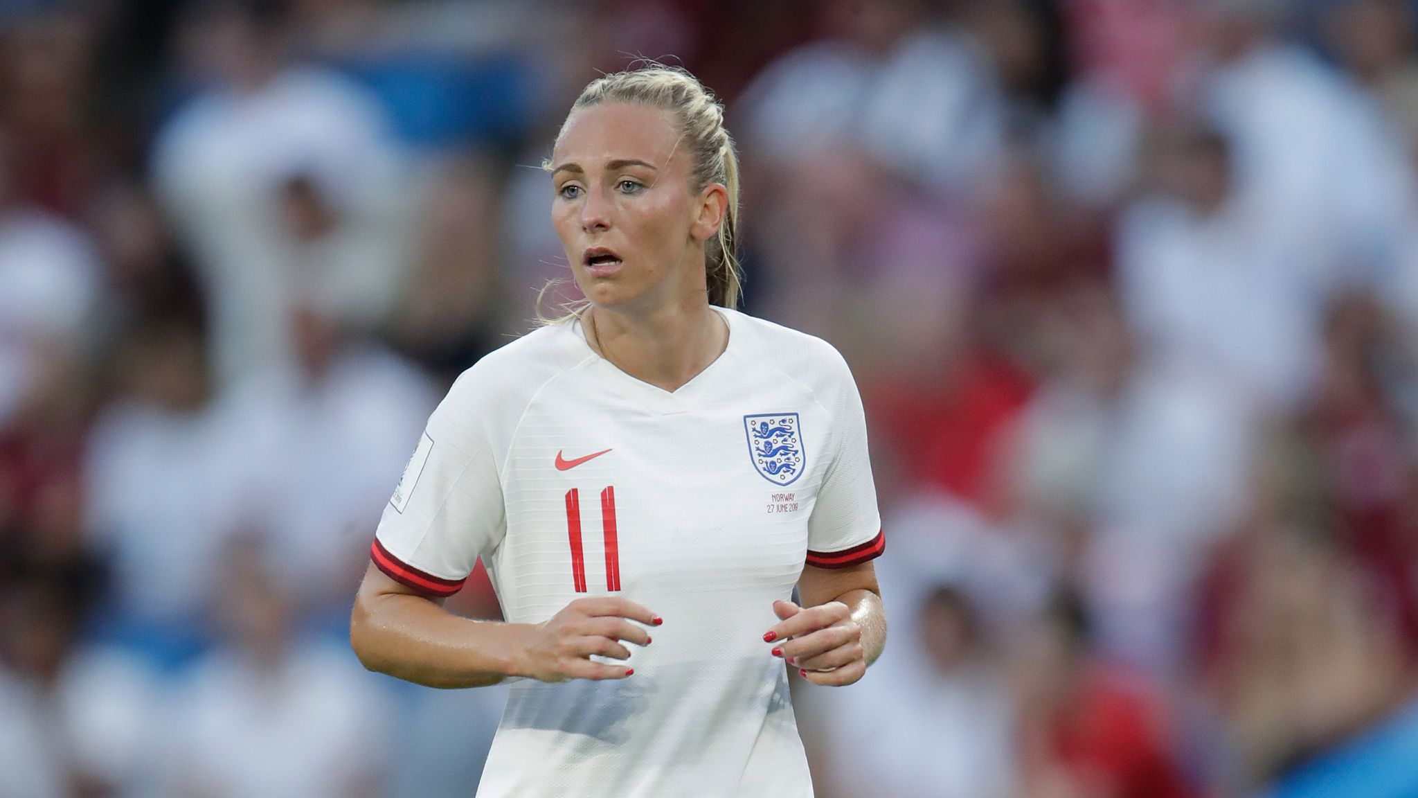 Toni Duggan joins Atletico Madrid on two-year deal