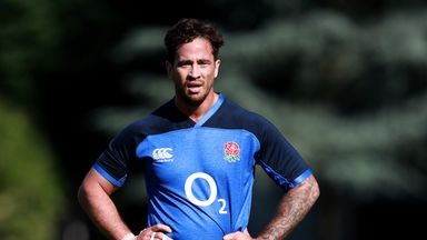 Danny Cipriani will not join England in Treviso for their pre-World Cup training camp
