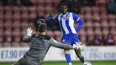 Motherwell have signed Devante Cole on loan fromWigan