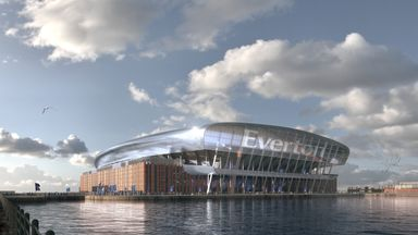 Public support Everton new stadium project