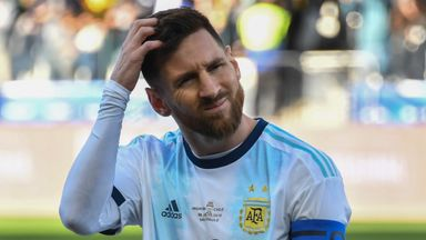 Lionel Messi saw red for Argentina vs Chile then claimed corruption was at work
