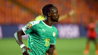 Sadio Mane scored the only goal of the game as Senegal beat Uganda