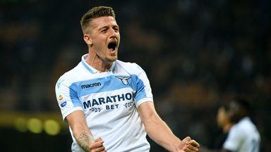 Sergej Milinkovic Savic has been a long-term transfer target for Man United