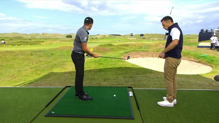 To celebrate the 148th Open at Royal Portrush, some of our favourite faces take on our 148-yard challenge in the Open Zone